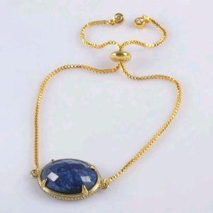 """""""Dreamscape"""" Lapis Lazuli Bracelet"""